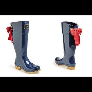 Joules Evedon Ribbon Women's Mid Welly